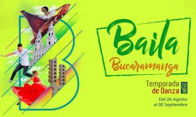 Baila Bucaramanga inicia este domingo 26 de agosto hasta el 2 de septiembre