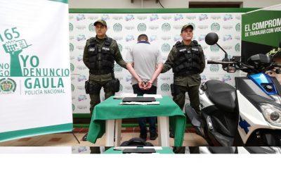 Policía capturó joven de 22 años señalado de hurto y extorsión