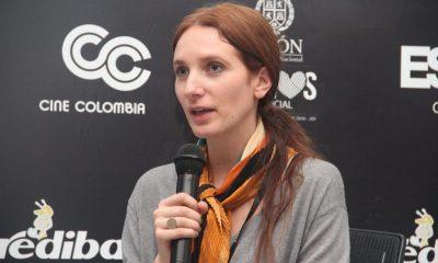 """Daniela Castro Valencia, directora de """"La mujer de los siete nombres"""", impartió el conversatorio 'El guion en el cine documental'."""