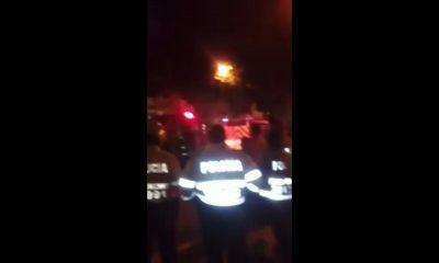 Incendio en el barrio Caldas de Bucaramanga
