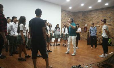 Taller actuación con Carlos Hurtado y Estefanía Borge en el X FICS