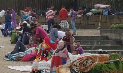 Más de 100 venezolanos prácticamente 'viven' en el Parque del Agua de Bucaramanga