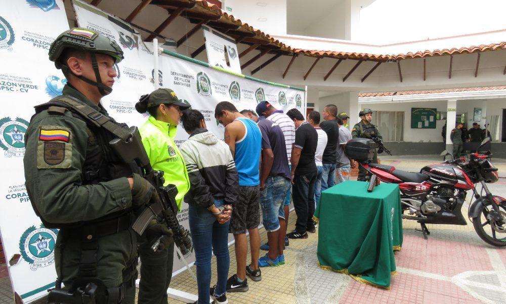 """La Policía capturó a """"Los Yucas"""" en Sabana de Torres"""