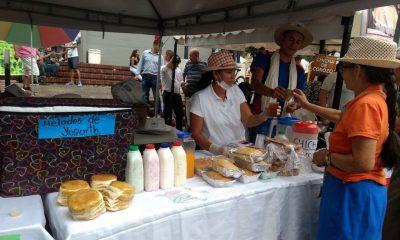 Una verdadera fiesta gastronómica santandereana se vivió hoy en el centro de Bucaramanga