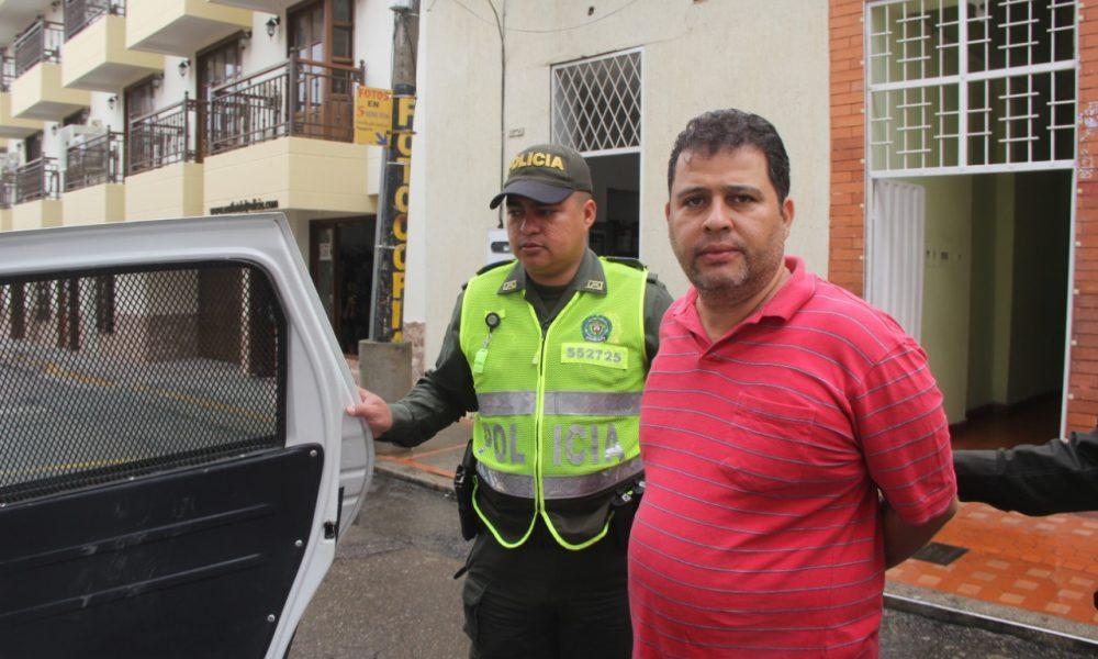 Capturado Gustavo Maldonado Estupiñán, exalcalde de Aguachica, Cesar, acusado de homicidio agravado y concierto para delinquir