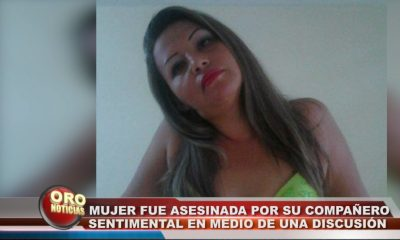 Un hombre asesinó a su compañera luego de una acalorada discusión.