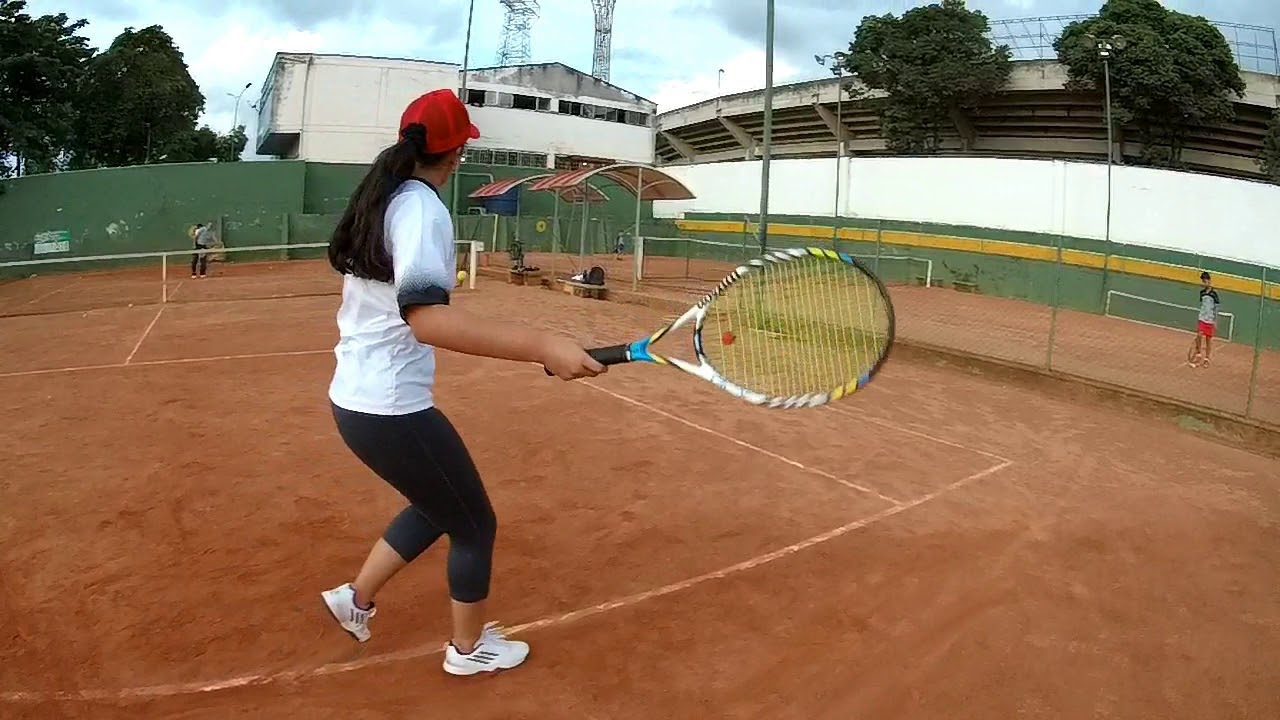 Inició torneo profesional en Liga Santandereana de Tenis