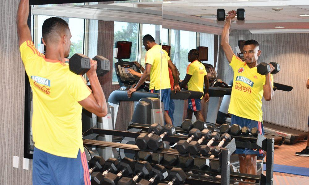 Selección Colombia ya tiene a sus 24 jugadores en Miami para enfrentar en amistosos a Venezuela y Argentina