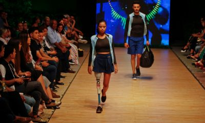 Yeimi Aguilar, de deportista paralímpica a modelo