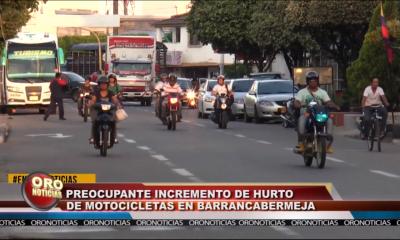 Incremento de hurtos en Barrancabermeja