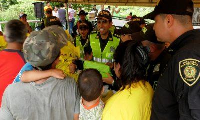 La Policía Nacional ha liderado colecta de comida para afectados por incendio