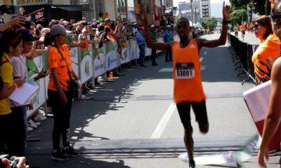 Los atletas keniatas dominaron la el Medio Maratón FCV de Bucaramanga