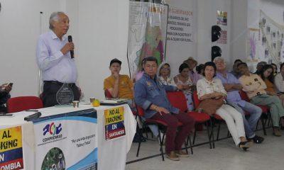 Analizan problemas ambientales en Santander
