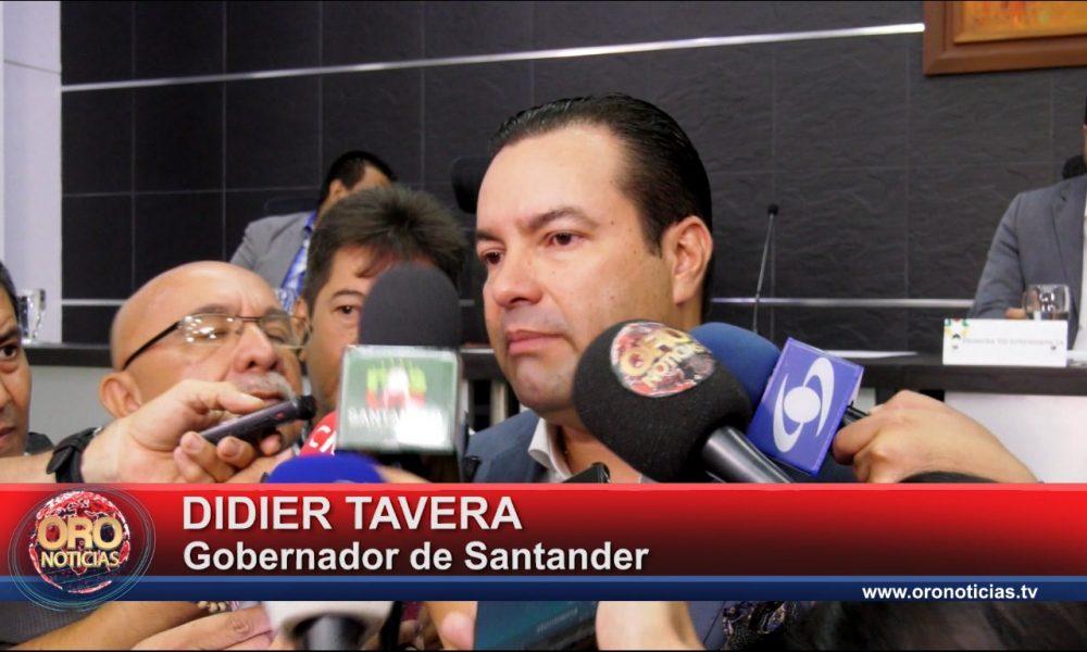 Gobernador designó alcalde encargado para Bucaramanga