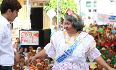Más de 300 concursantes hicieron parte del Reinado Adulta Mayor en Floridablanca