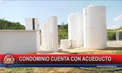 Condominio Mesa de Los Santos cuenta con agua potable para todas sus familias