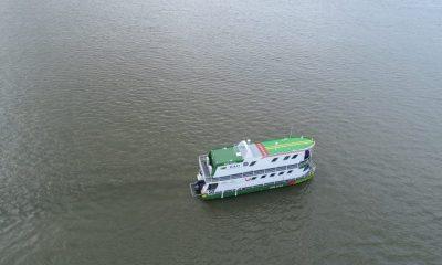 Ya navega el CAII Fluvial Pienta en el embalse de Topocoro