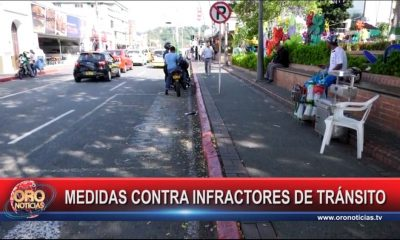 Tránsito de Floridablanca inició operativo de fin de año