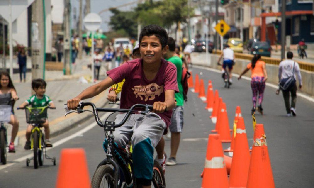 Las tarimas de la actividad física musicalizada estarán ubicadas en la glorieta del Caballo de Bolívar en la calle 10 y en la calle 45.