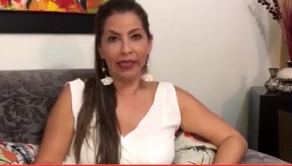 Liliana Prada, esposa de Julio Diaz, el piloto del helicóptero que el pasado 11 de enero fue secuestrado en zona del Catatumbo