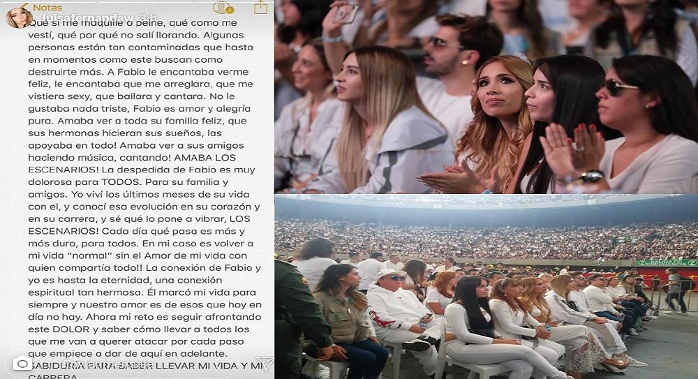 Luisa responde a quienes la critican en sus redes sociales.
