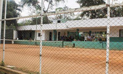A mediados de marzo se estrenarían las canchas de tenis que son remodeladas en el Parque de los Niños de Bucaramanga, fueron intervenidas despué de 50 años