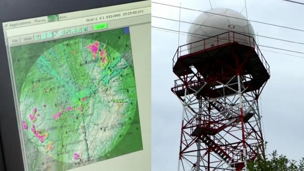 El nuevo radar meteorológico de Colombia comenzó a funcionar desde Santander, para registrar y reaccionar de manera oportuna, las condiciones climáticas de 12 departamentos.