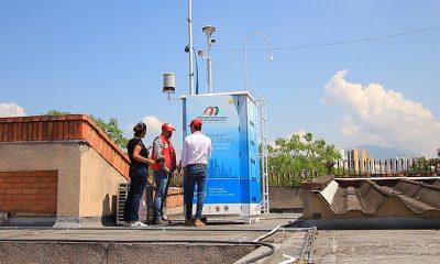 Con los resultados de mediciones de los aires entregados hoy en Floridablanca, el AMB anunció un aumento en la tendencia al deterioro de su calidad