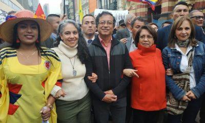 Gustavo Petro, anunció mediante su red social de Twitter, que la madre de Claudia Gurisatti fue escogida por la Colombia Humana como candidata a al alcaldí