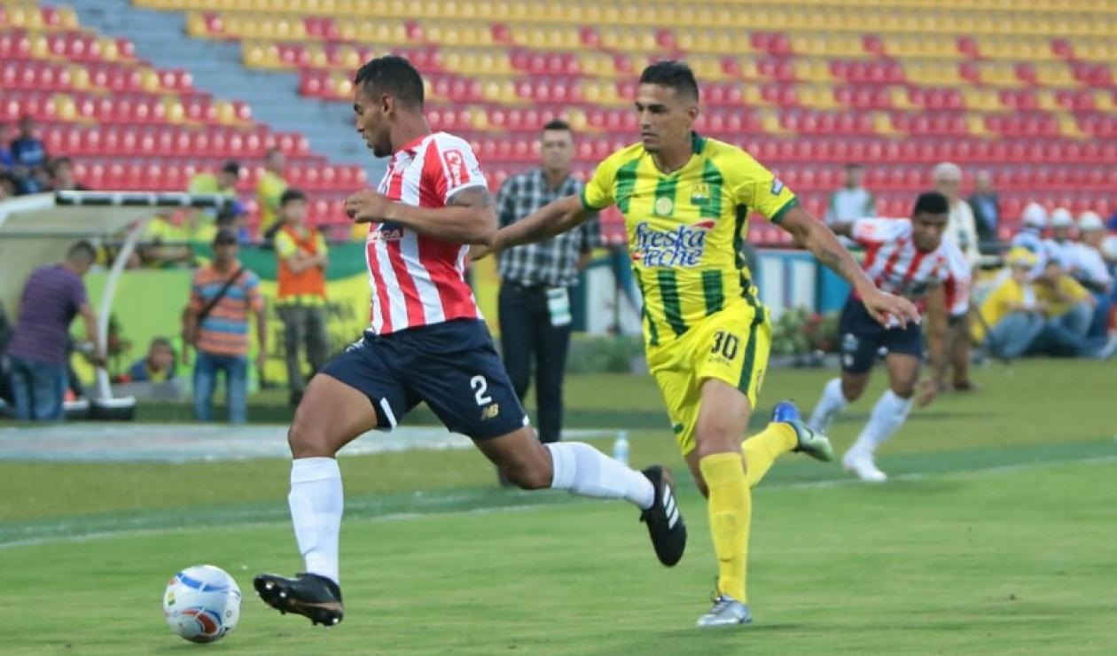 Júnior de Barranquilla derrotó 2 x 1 al Atlético Bucaramanga