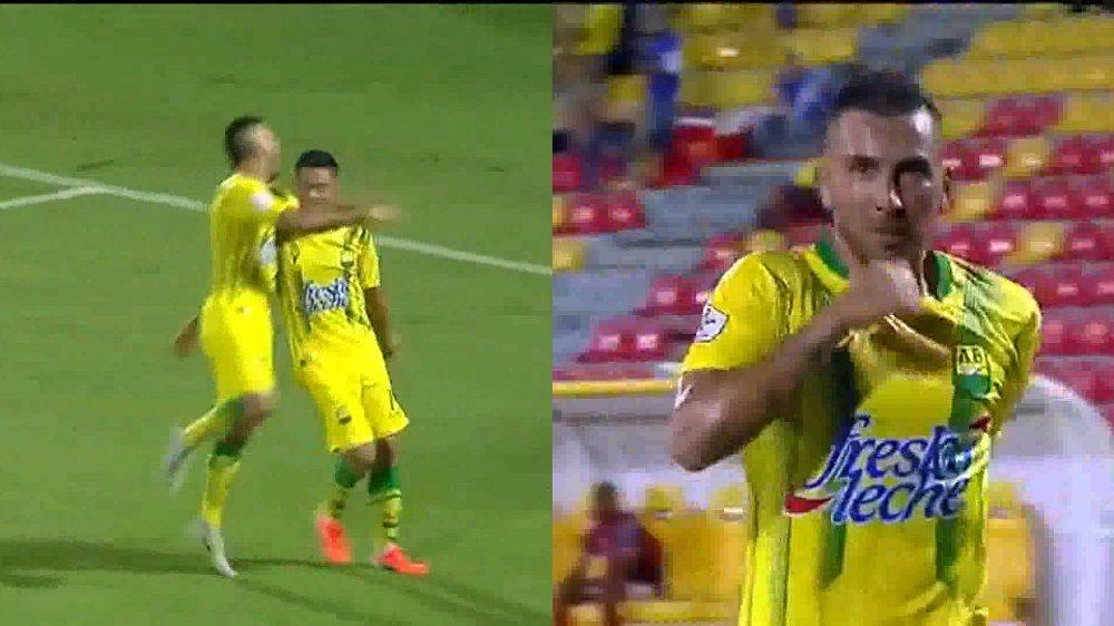 Con goles de Romero y Jerez, el Atl. Bucaramanga derrotó al Cúcuta Deportivo
